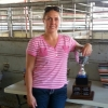 Autumn and her 2 Yr Old Breeders Championship trophy