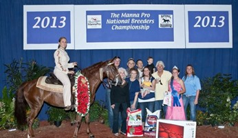 Baby Grand: 2013 Breeders Cup 3 Yr Old Amateur Champion, Autumn Larkowski