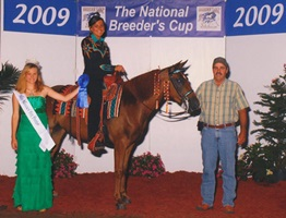 Poison Ivy, Shown by Danielle Anthony, Three & Four Year Old Amateur Breeders Cup Champion