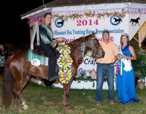 Baby Grand, Shown by: Autumn Larkowski - 2014 Spring Show 4 Yr Old Champion