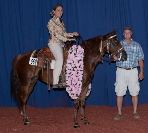 Baby Grand, Shown by: Autumn Larkowski - 2014 Amateur 4 Yr Old Maturity Champion