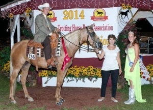 Holy Goldie, Shown by: Tom Frisella - 2014 Reserve World Grand Champion Restricted