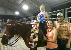 Crimson Cowgirl & Taylor Abbott wins Arkansas Cup Youth Championship
