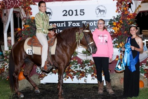 CIA, Ladies 3 Yr Old Stallions & Geldings World Champion