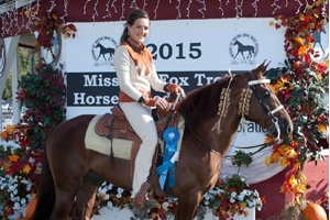 CIA, Open 3 Yr Old Stallions & Geldings World Champion, Shown by: Danielle Anthony, Owned by Adam Jokisch