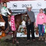 2015 Ladies 3 Year Old World Grand Champion