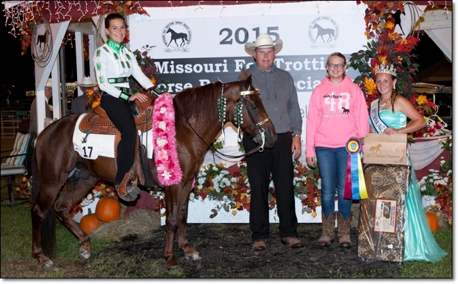 2015 Ladies 3 Year Old World Grand Champion