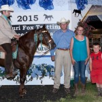 Three Year Old Futurity Open Stallion & Geldings Champion