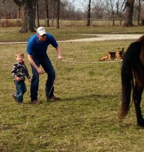 Kole_learning natural horsemanship